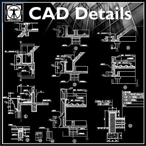 Architecture Details Collection Cad Design Download