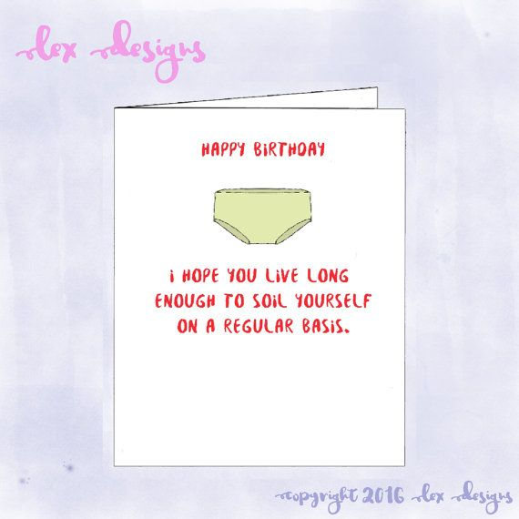 Funny insulting birthday blank greeting card by lexdesignsuk funny insulting birthday blank greeting card by lexdesignsuk m4hsunfo