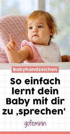 Babyhandzeichen: So einfach lernt dein Baby mit dir zu 'sprechen'