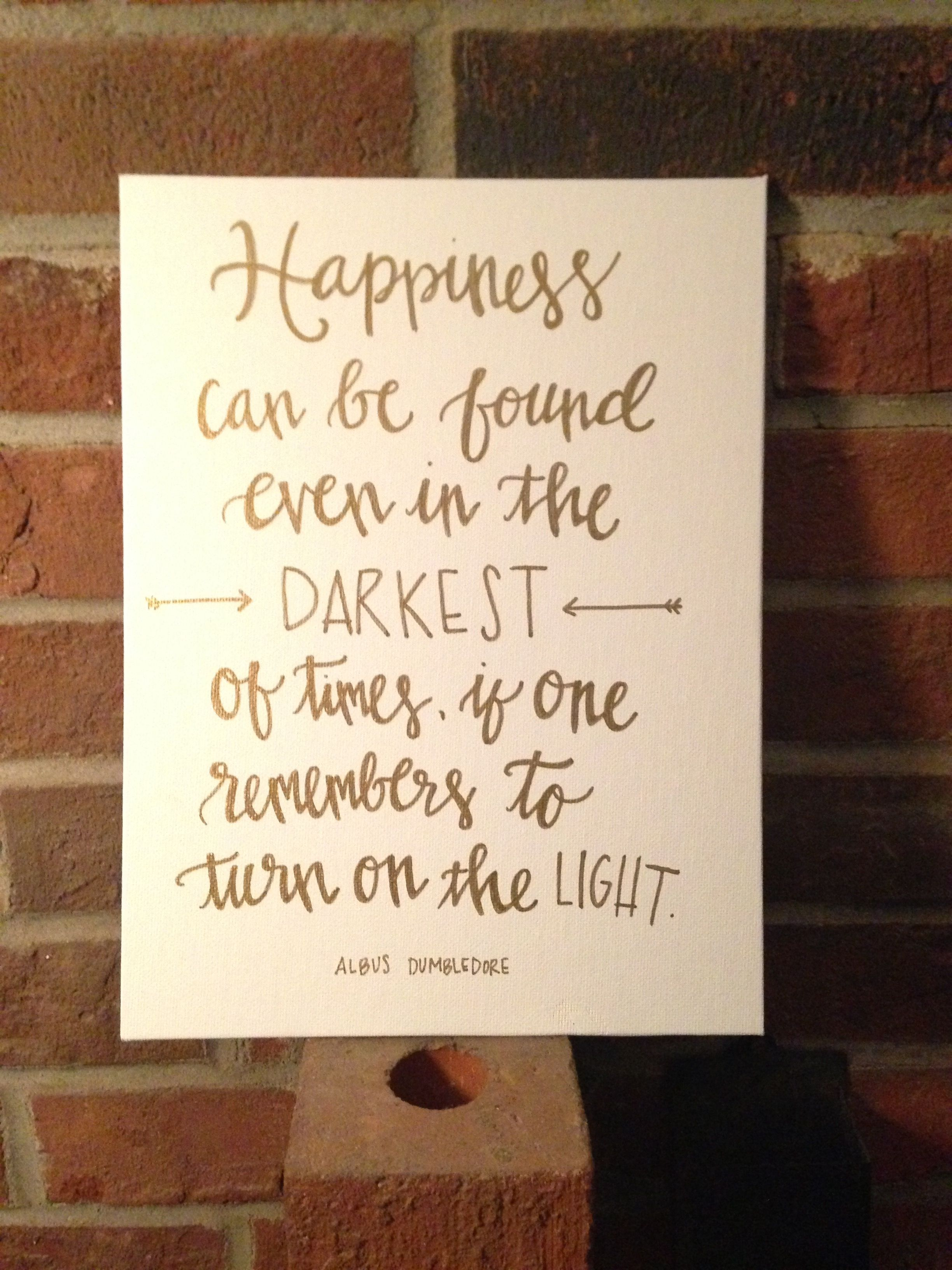 Quote Paintings Harry Potter Canvas  My Journals And Canvases  Pinterest  Harry