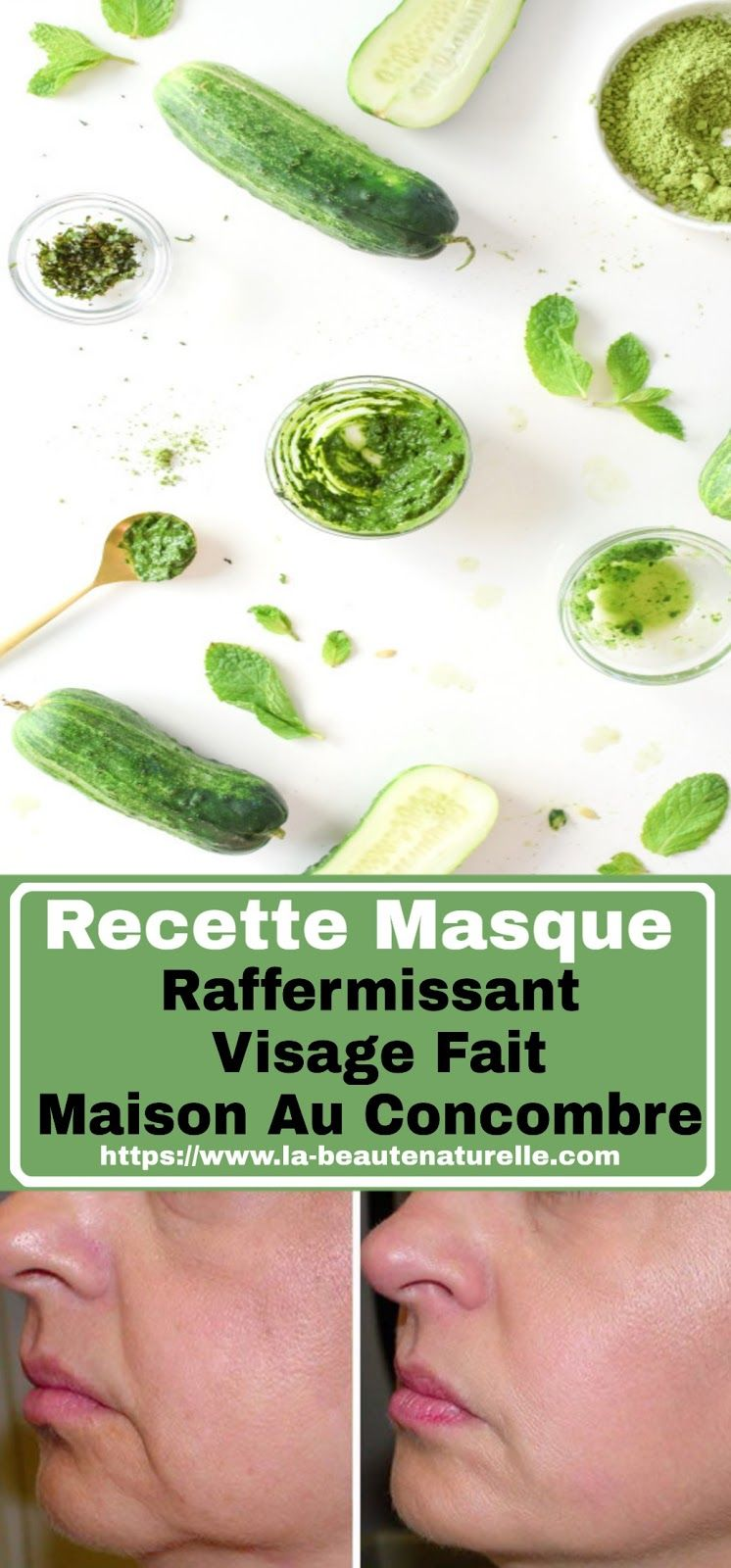 Recette Masque Raffermissant Visage Fait Maison Au Concombre Recette Masque Raffermissant Visage Concombre Cucumber Hair Beauty Condiments