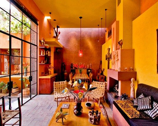 mexican style homes interior - Google Search