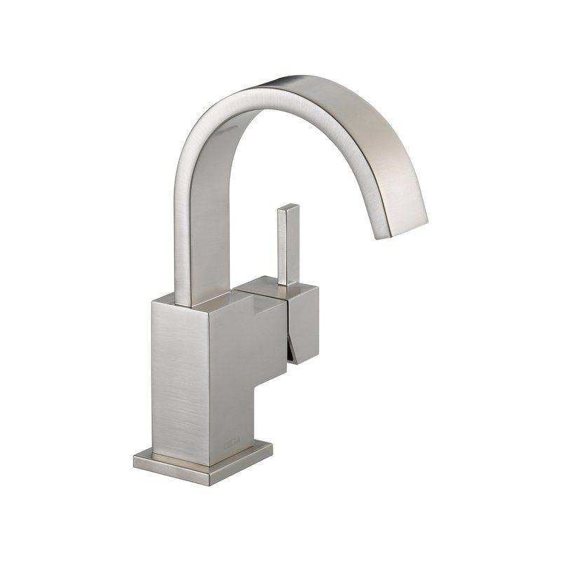 View The Delta 553Lf Vero Single Hole Bathroom Faucet  Includes Captivating Delta Single Hole Bathroom Faucet Design Inspiration