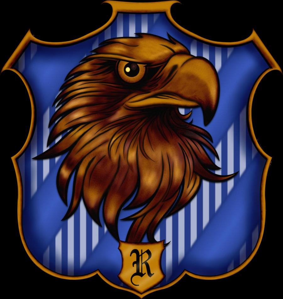 Ravenclaw Crest by witcheewoman.deviantart.com on @deviantART