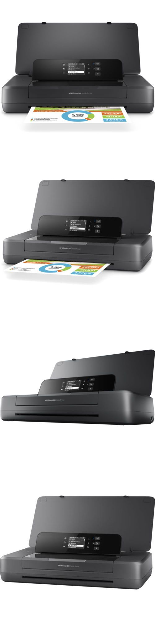 Printers 1245 Hp Officejet 200 Portable Printer With Wireless And Mobile Printing Cz993a Buy It Now Only 199 With Images Wireless Printer Hp Officejet Mobile Print