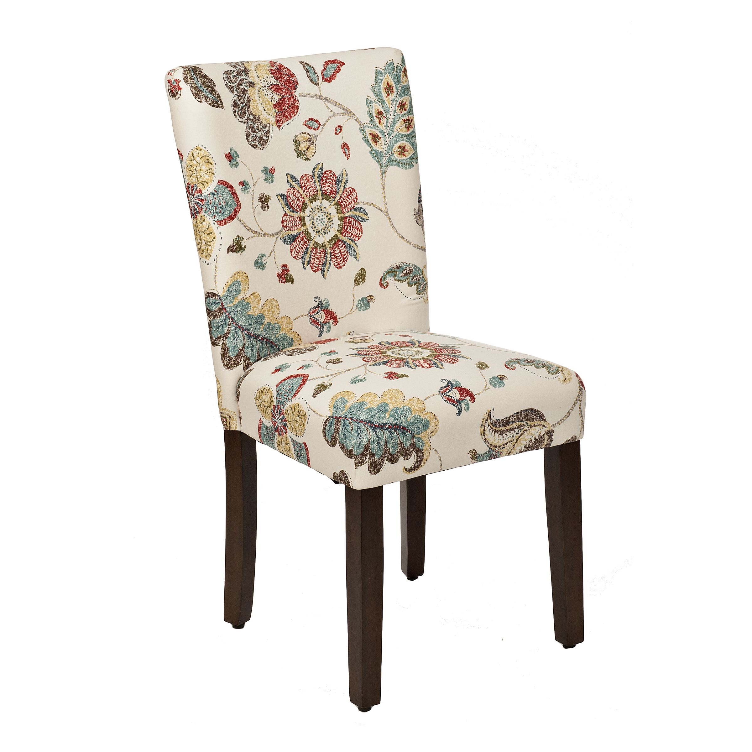 Spring Poppy Parsons Chair | Parsons chairs, Floral chair and House ...