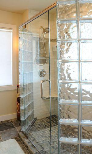 Glass Bricks Bathroom Ideas Douche Ideeen Douches Badkamer