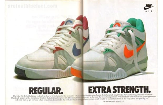 Nike Air Tech Challenge - Andre Agassi's 10 Best Sneakers of All Time |