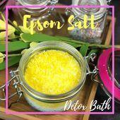 Epsom Salt Detox Bath #colorful #photooftheday #cute #picoftheday #beautiful#Ski...#bath #beautifulski #colorful #cute #detox #epsom #photooftheday #picoftheday #salt