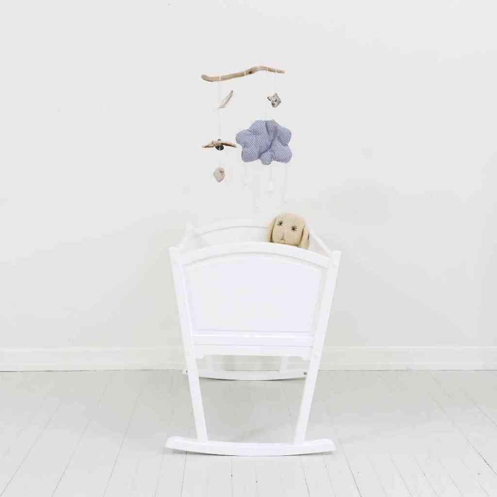 Kinder r ume oliver furniture wiege weiss kinderzimmer - Kinderzimmermobel baby ...
