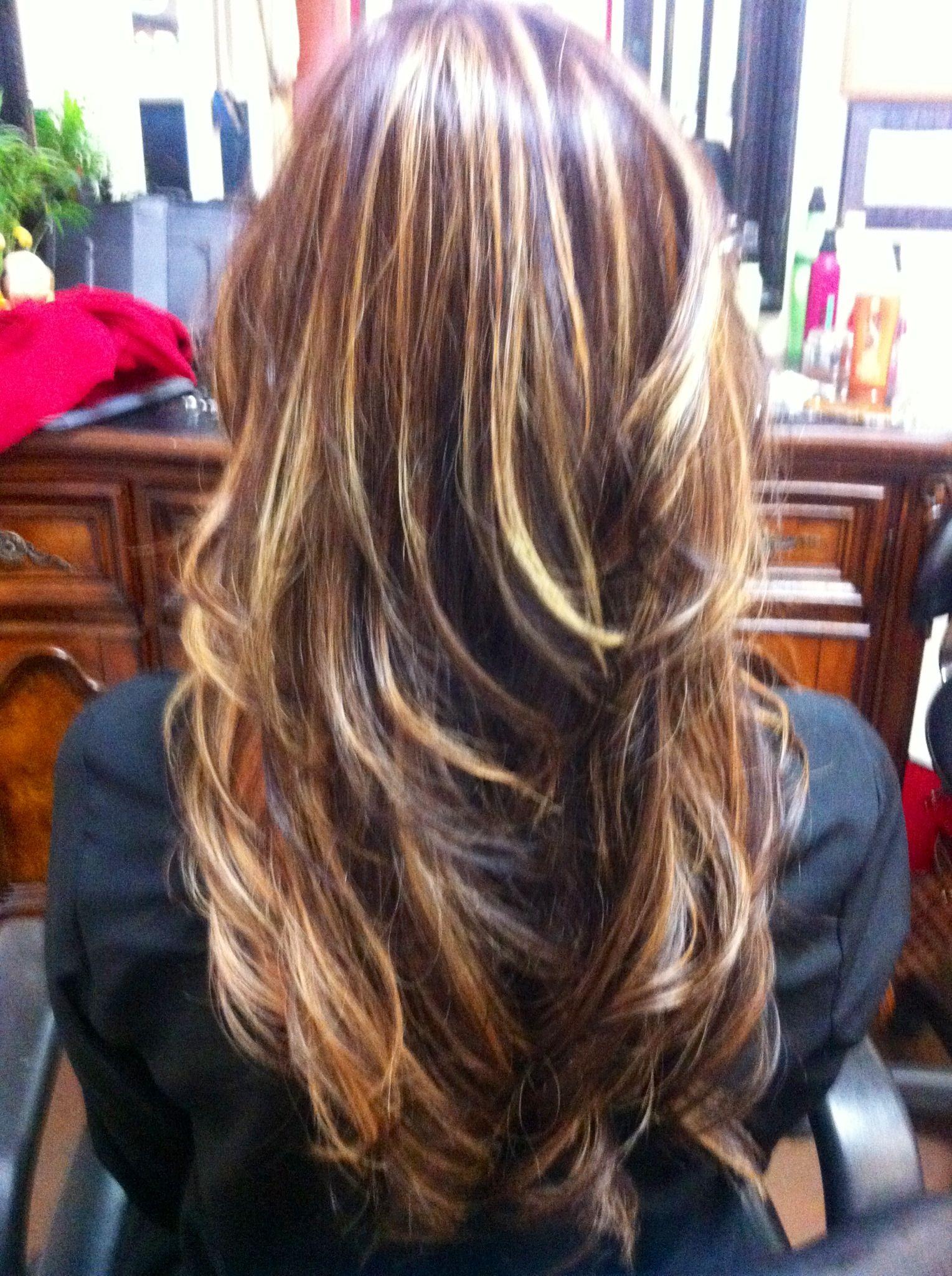 My new brownde hair Love Beauty Pinterest