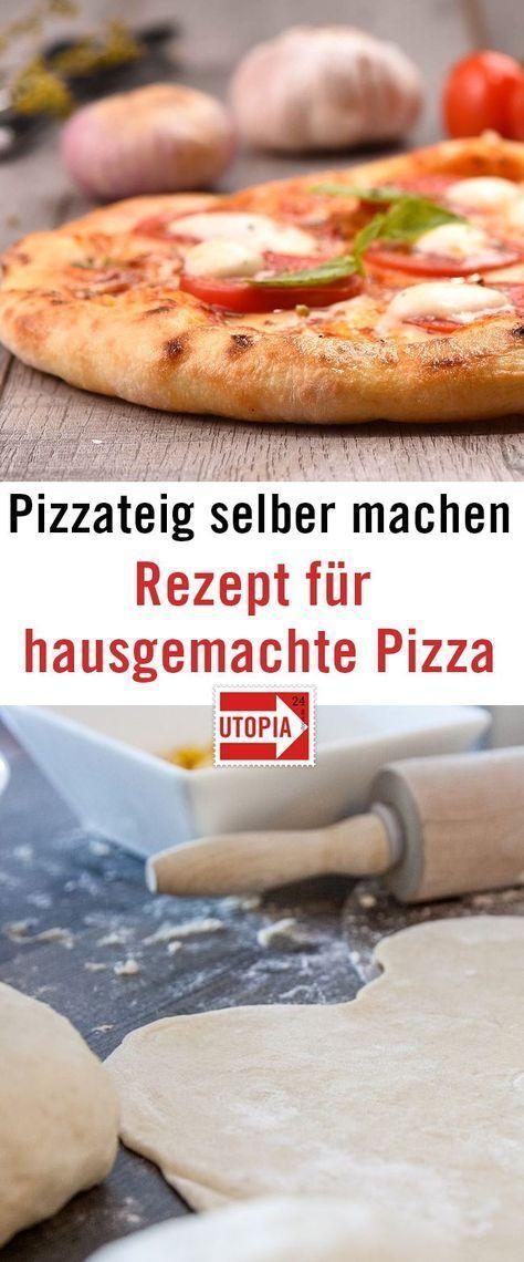Pizzateig selber machen: Rezept für hausgemachte Pizza   - Essen -