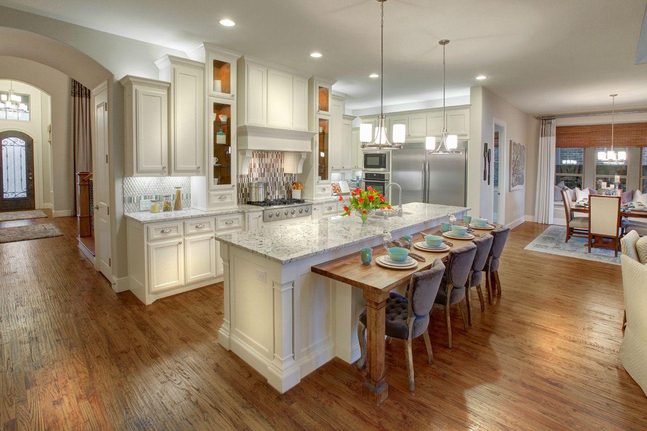 Lakeside DFW model home in Flower Mound, Texas kitchen
