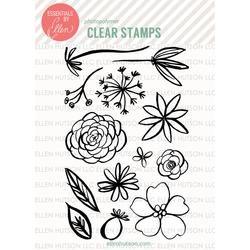 Essentials by Ellen Clear Stamps, Bohemian Garden by Julie Ebersole