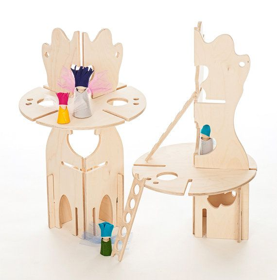 Ta.Ta. Unconventional Design For Kids: dolls house