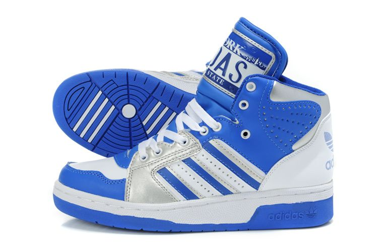 Adidas Jeremy Scott Originals JS LICENSE PLATE WhiteBlue