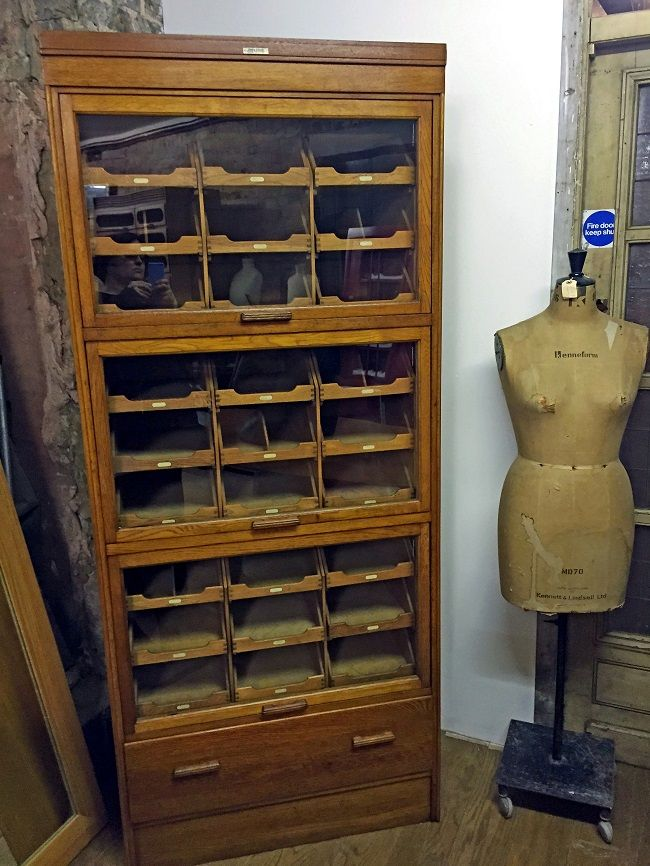 d and a binder vintage shop display cabinet | Homegirl London - D And A Binder Vintage Shop Display Cabinet Homegirl London