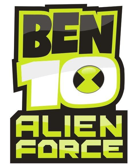 Ben10 Alien Force Logo Cdr File Ben 10 Ben 10 Forca Alienigena Monstros