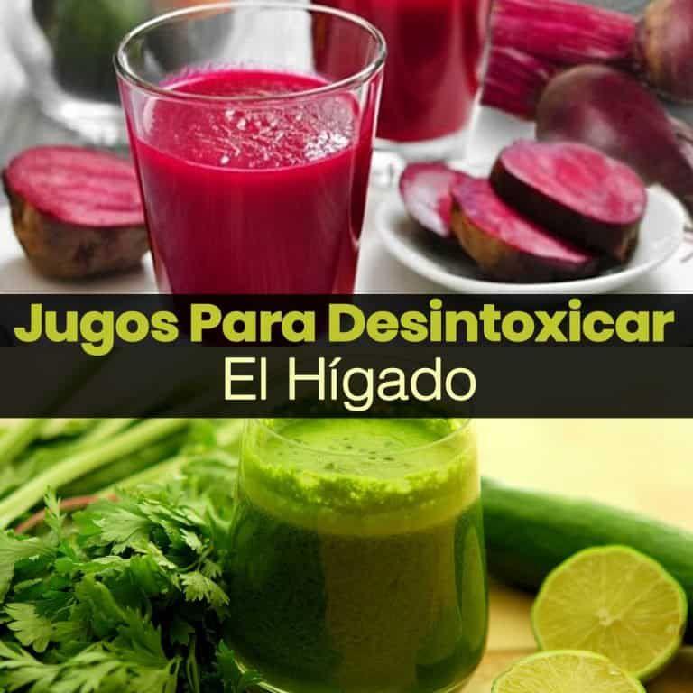 4 Jugos Para Limpiar El Hígado Naturalmente La Guía De Las Vitaminas Natural Detox Drinks Detox Juice Healthy Drinks Detox