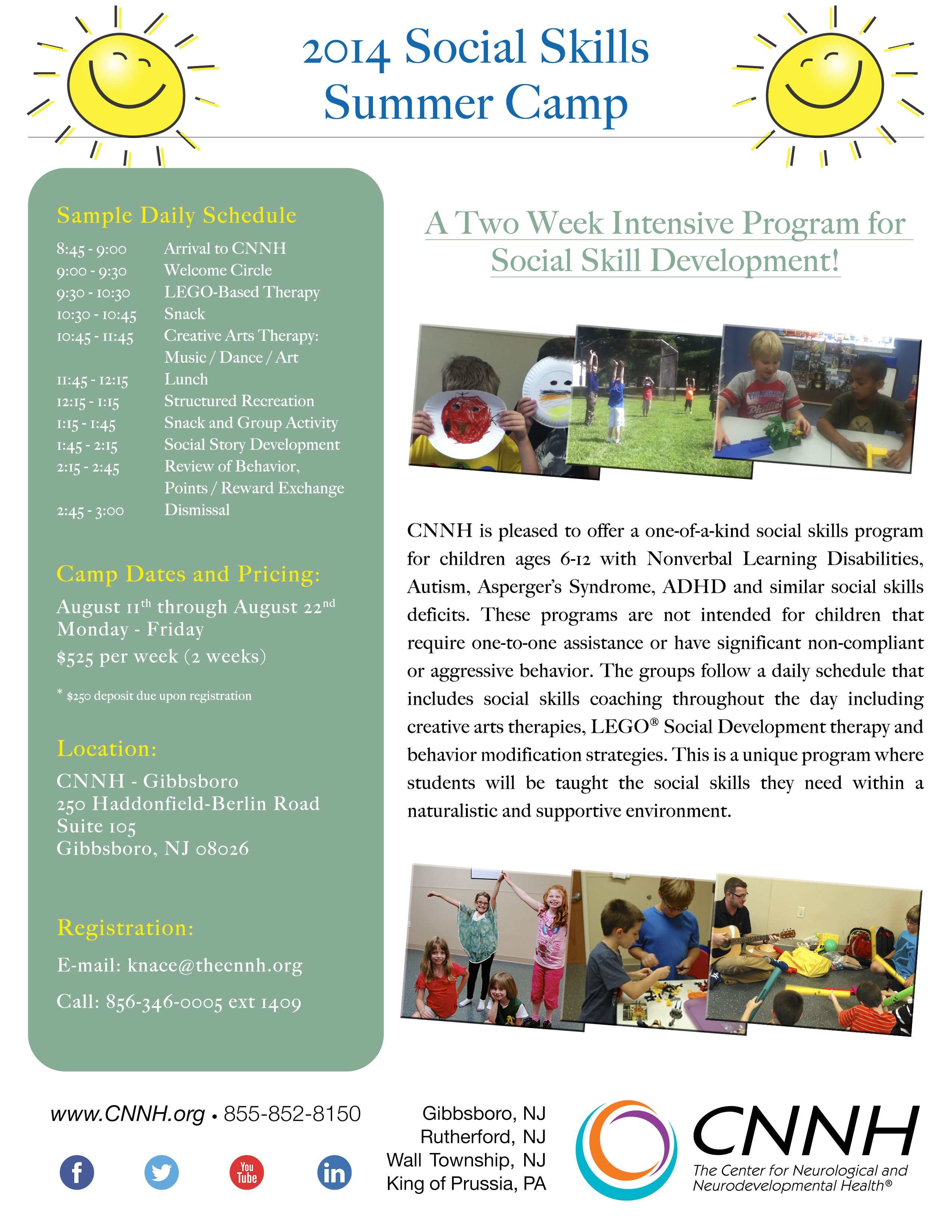 Looking For Summer Activities To Develop Your Child S