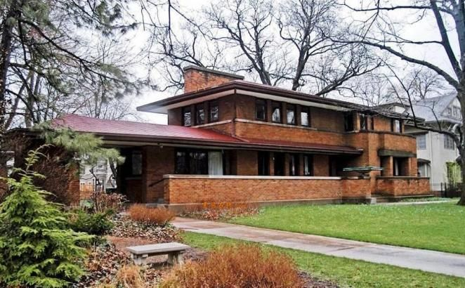 Awesome Frank Lloyd Wright Style Home