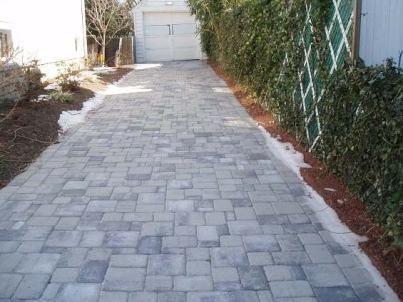 Driveway For My Future House Einfahrt Pflaster Und Garten