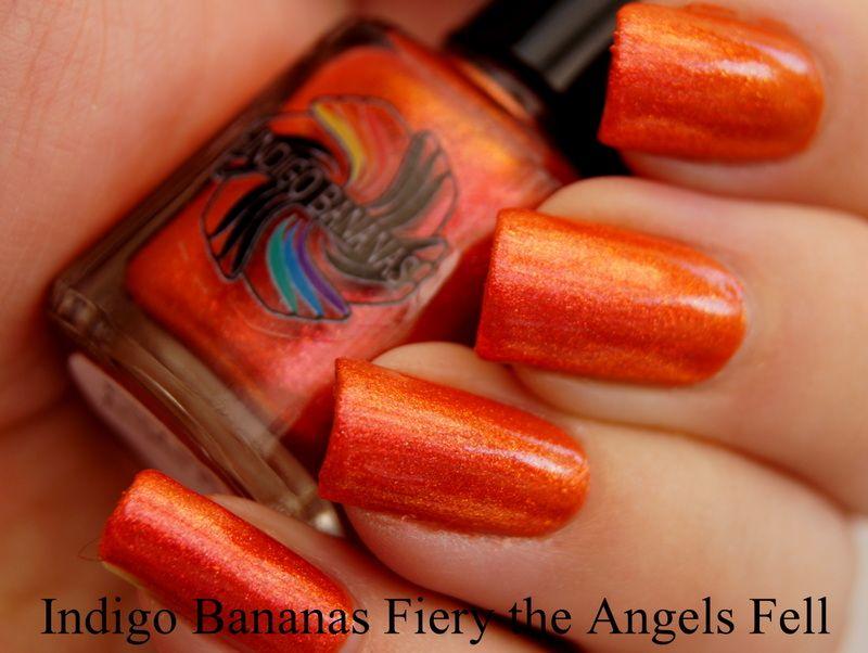 Indigo Bananas - Fiery the Angels Fell  (Sminkan & Emma 07-31-13)