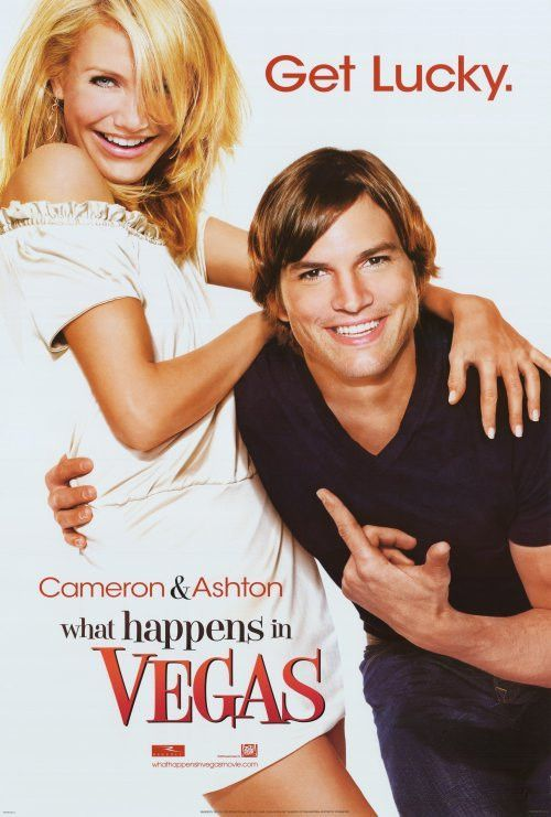 What Happens In Vegas 27x40 Movie Poster 2008 Romantic Comedy