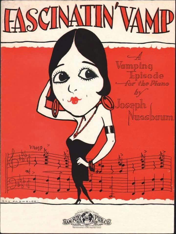 Music sheet 1920s.