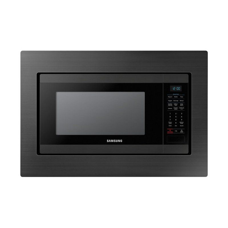 Samsung Microwave Trim Kit 30 Inch Black Stainless Steel Black
