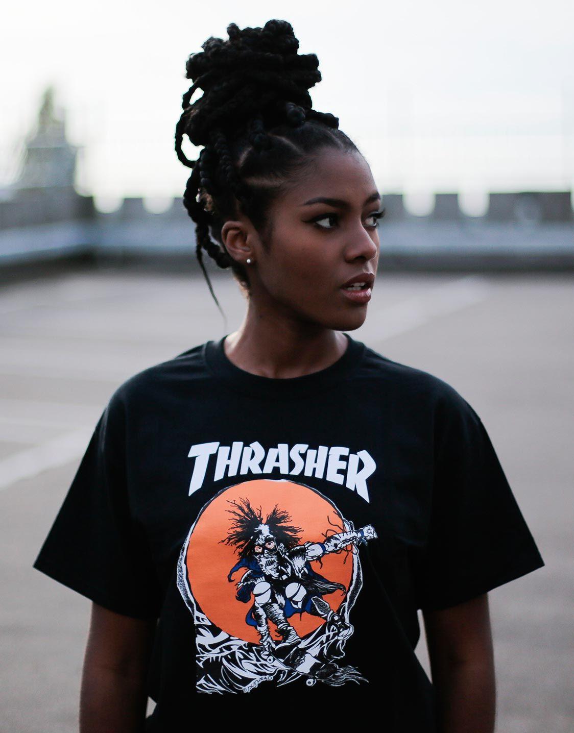 64c767ae1102 Thrasher Magazine Skate outlaw t-shirt | TRASHER magazine | Magazine ...