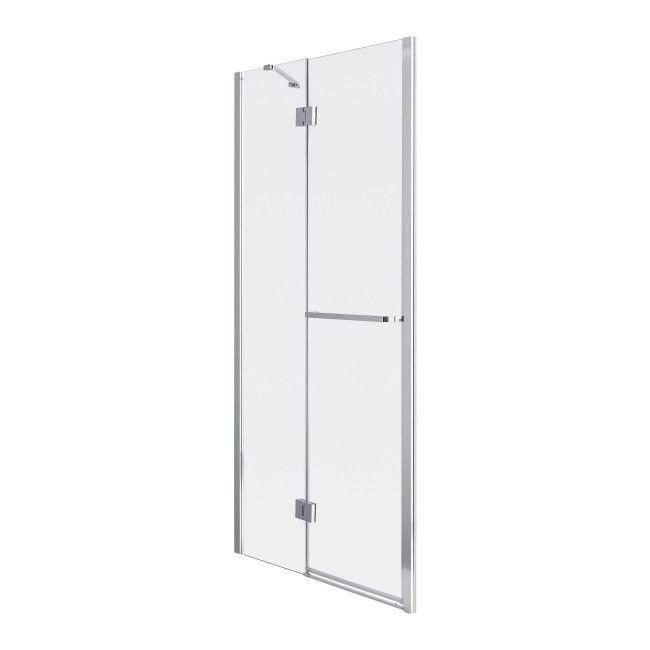 Drzwi Prysznicowe Uchylne Goodhome Naya 100 X 195 Cm Szklo Transparentne Scianki I Drzwiczki Locker Storage Home Decor Storage