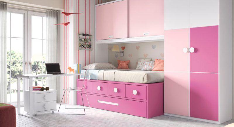 Habitación infantil moderna con muebles modulares   Mobiliario ...