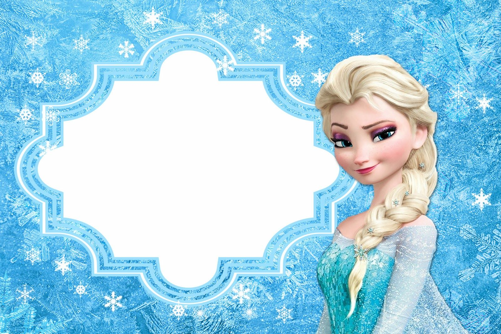 Frozen Free Printable Cards Or Party Invitations Disneys - Frozen birthday party invitation template free