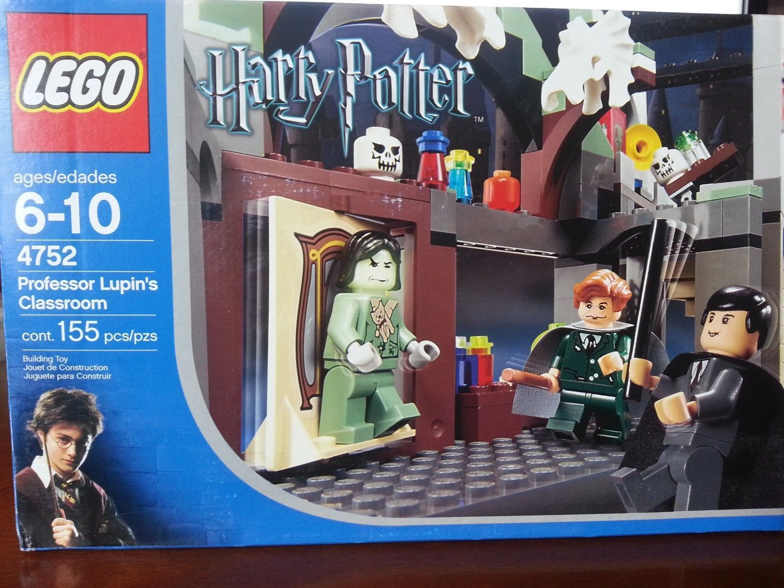 LEGO Harry Potter Prisoner of Azkaban Professor Lupin's ...