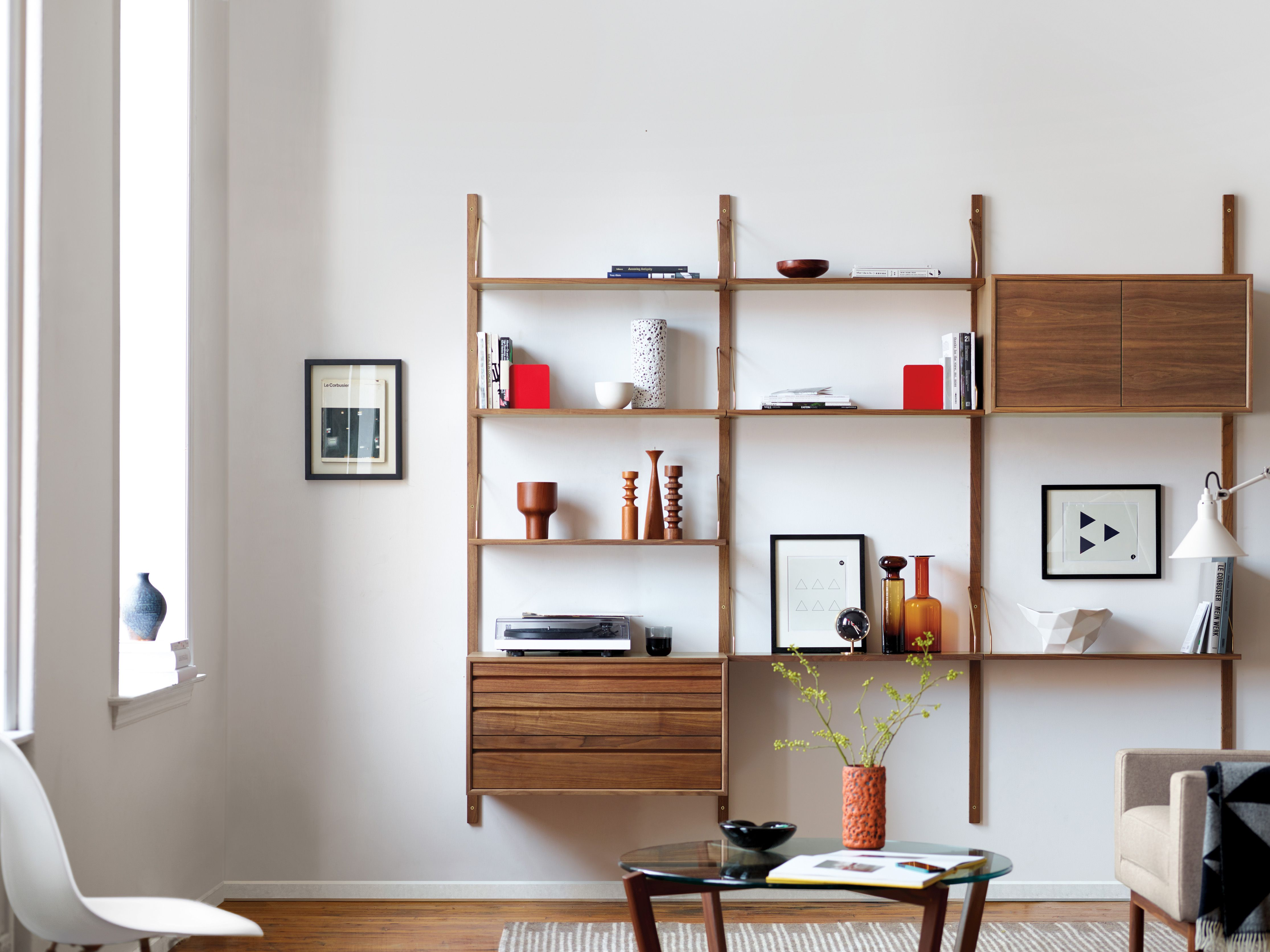 The authentic royal system shelving returns to dwr