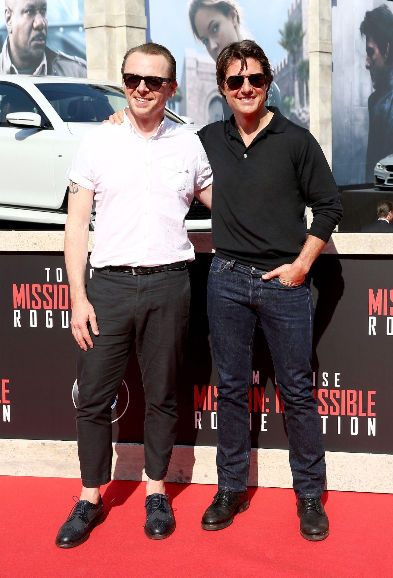 Tom Cruise Simon Pegg Tom Cruise in 2018 Pinterest