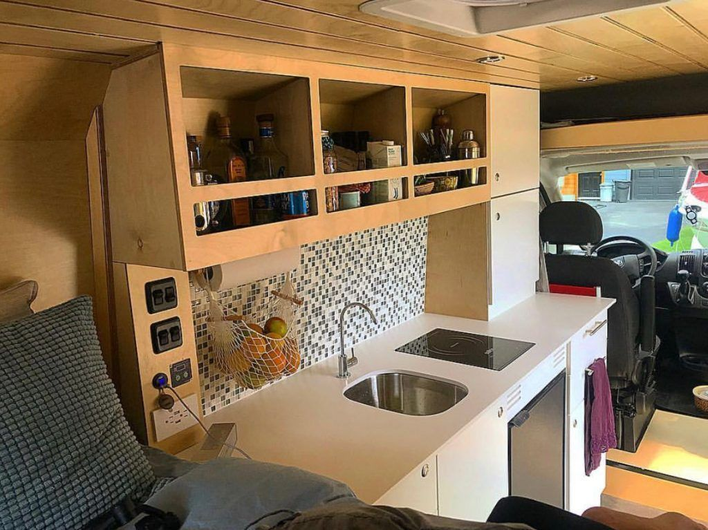 Photo of Next on our list of van life ideas is wooden cladding. This is becoming a popula…