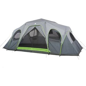 Ozark Trail 12 Person 3 Room Xl Hybrid Instant Cabin Tent Cabin Tent Family Tent Camping Ozark Trail Tent