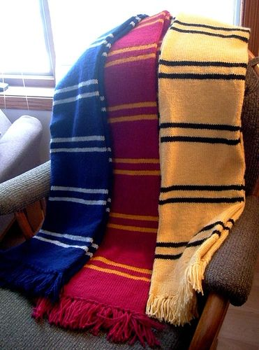 Make A Harry Potter Scarf Harry Potter Pinterest Harry Potter