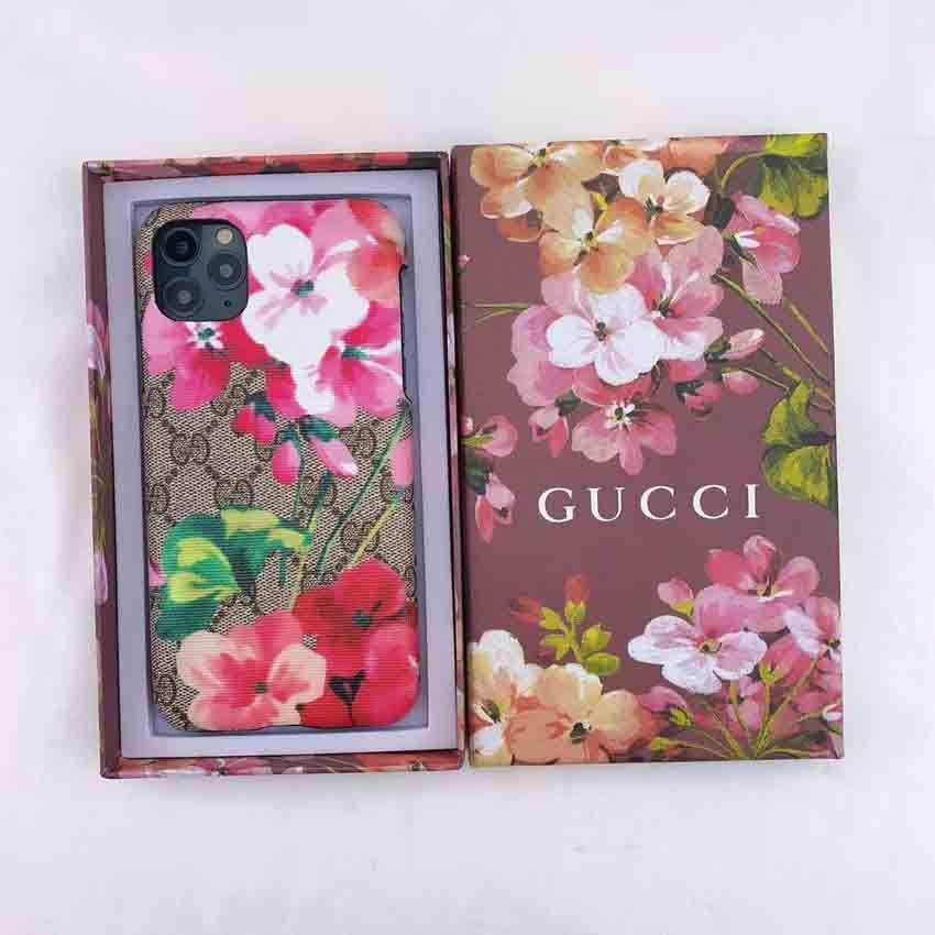 グッチ Iphone11ケース 花柄デザイン Iphone11 Pro Maxカバー Gucci オリジナル Iphone Xr Xs Maxハードカバー 花柄デザイン グッチ 花柄