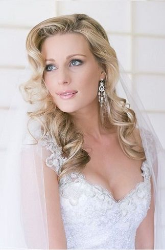 Lovely Long wedding hairstyles