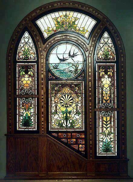 Stained glass door & Vitraliile ediţia de lux a luminii! :) | DOORS AND WINDOWS ... Pezcame.Com