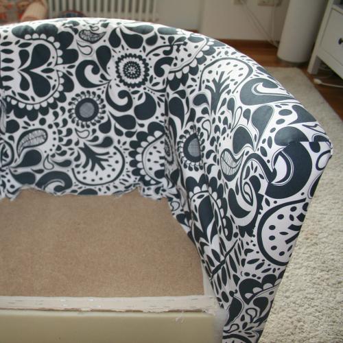 Kiwis & Krauts: DIY Cover für IKEA Solsta Olarp Sessel / DIY Cover for IKEA Solsta Olarp chair