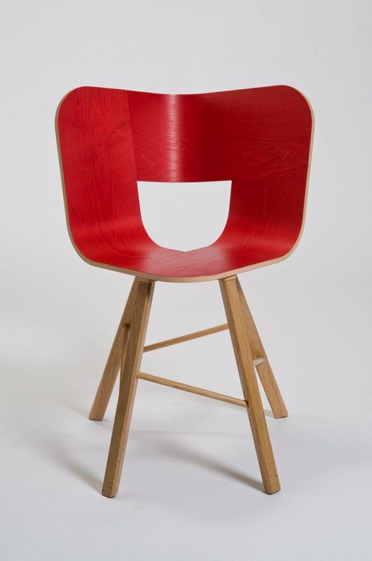 Tria Wood Chair By Lorenz Kaz For Italian Design Label Cole Wood Chair Design Iconic Chairs Chair Design