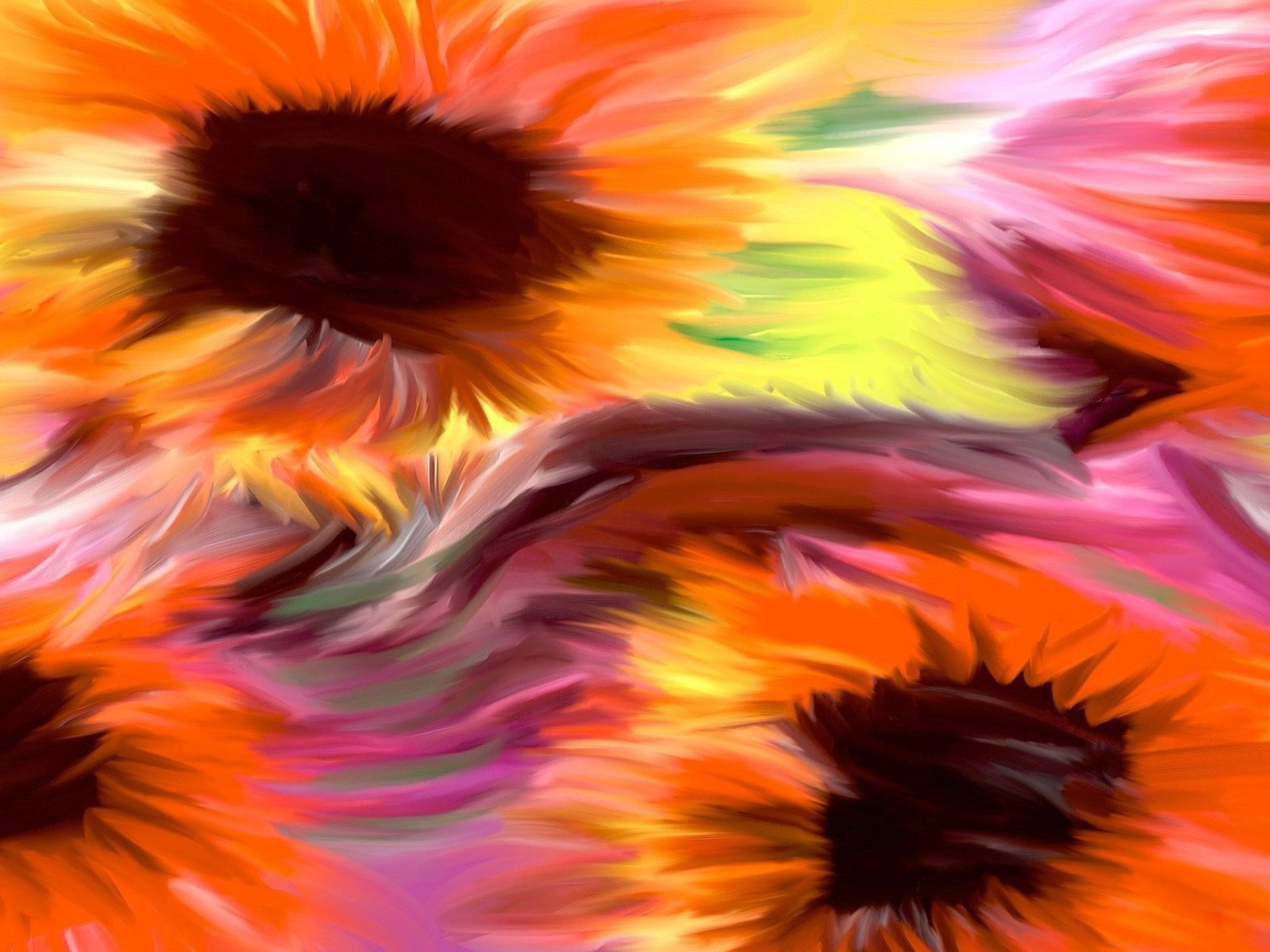 Pin By Shelia Arnold On Color My World Flower Painting Watercolor Flowers Sunflower Wallpaper