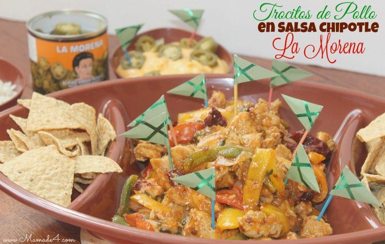 Trocitos de Pollo en Salsa Chipotle La Morena #VivaLaMorena #Ad #MyColectiva