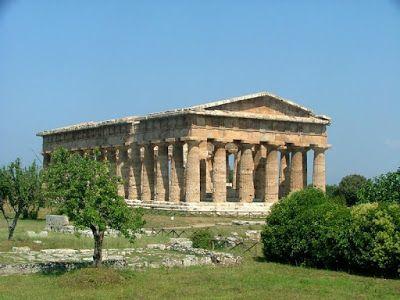 La Sabiduria De Grecia Templo De Hera En Paestum Arquitectura Griega Clasica Arquitectura De La Antigua Grecia Arquitectura Griega