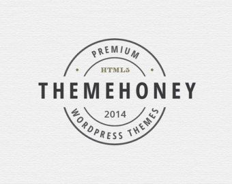"Logo Design | Customized Logo | Premade | Business | Branding  | Wedding | Photography | ""Hive"""