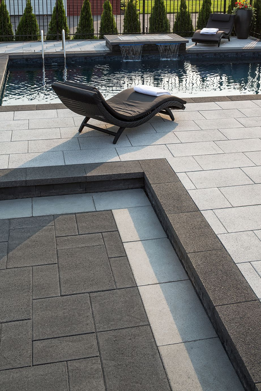 Dalle Prestige Gris Granite Et Anthracite Prestige Slab Granite